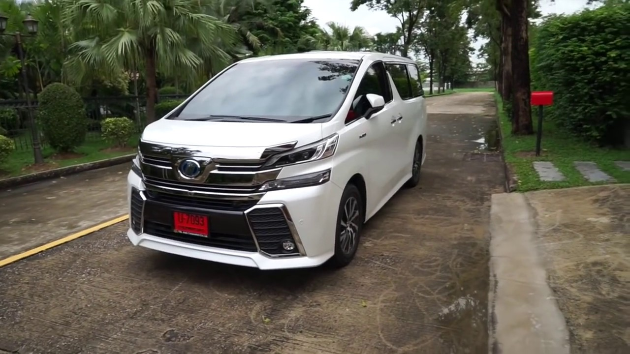 รีวิว 2015 Toyota Vellfire Hybrid ZRG Full Option by KS Car Reviews