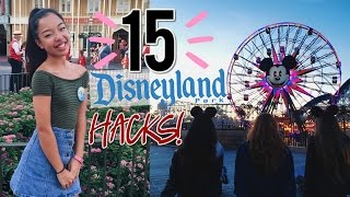 15 DISNEYLAND LIFE HACKS YOU PROBABLY DON'T KNOW!!
