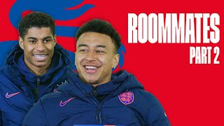 Rashford's New Nickname & Lingard's Favourite Nut | Rashford and Lingard | Roommates Part 2