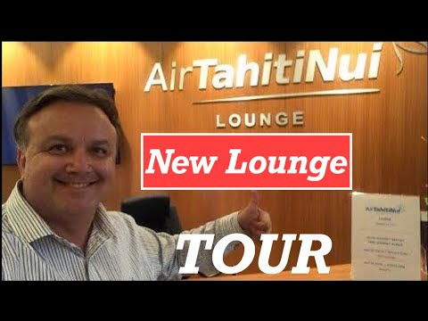 🔴LIVE from (NEW) Air Tahiti Nui Lounge in Papeete, Tahiti