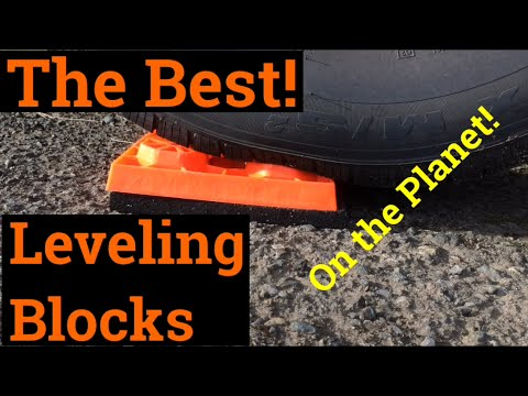 Best Rv Leveling Blocks And Cheap Youtube