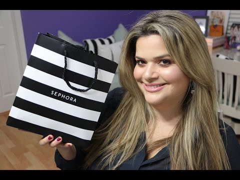 SEPHORA TRY ON HAUL: TRYING NEW MAKEUP / FIRST IMPRESSIONS