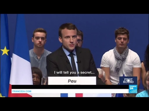 France Presidential Election: Who is Macron, the 39-year old maverick who clinched the 1st round?