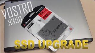 dell vostro 3350 ssd upgrade & win10 install (4k)