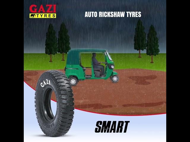 Gazi Auto-Rickshaw Tyres