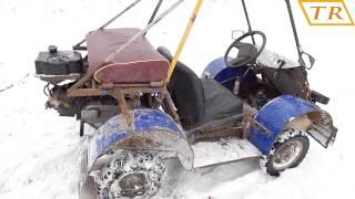 Багги из скутера -125СС