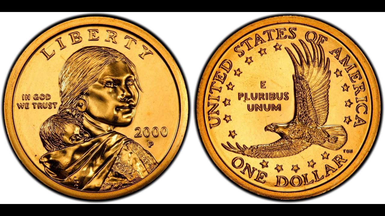 2000 P Uncirculated Native American Dollar Coin U.S Mint