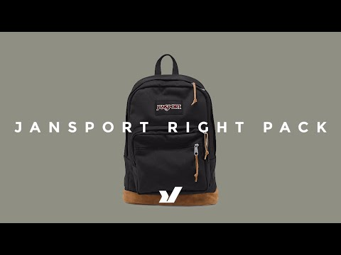 The Jansport Right Pack Backpack - YouTube