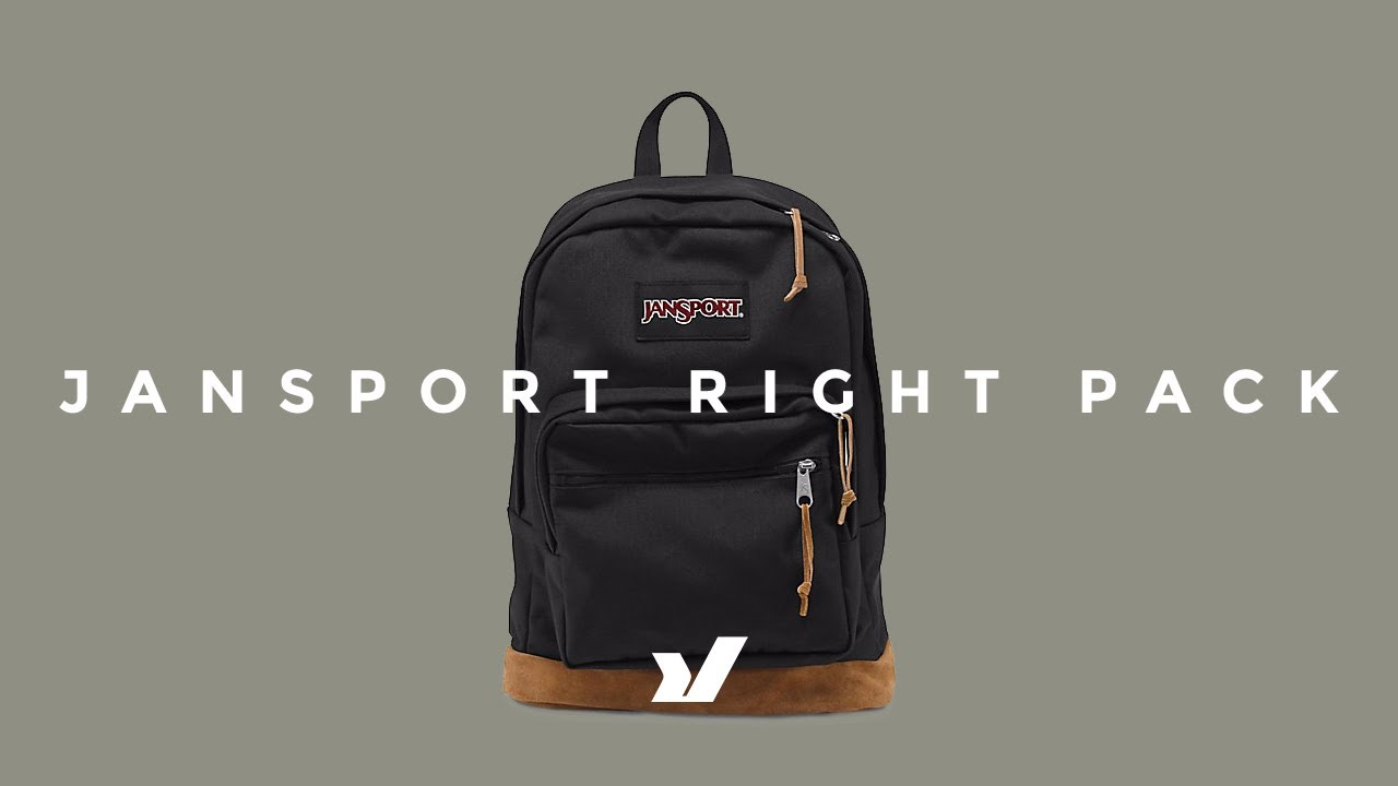 63199e72ef38 The Jansport Right Pack Backpack - YouTube