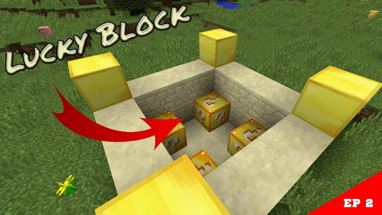 моды для майнкрафт 1.10 лаки блок #1