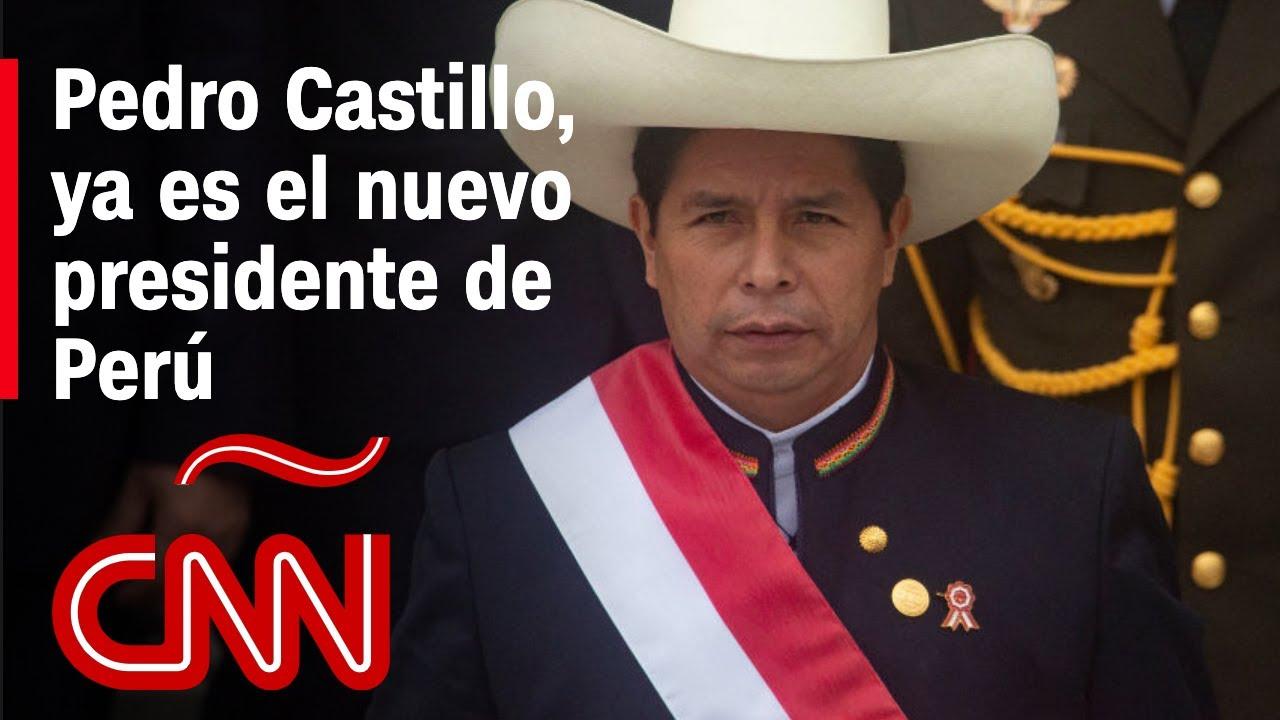 Pedro Castillo asume presidencia de Perú: lo más destacado y el análisis