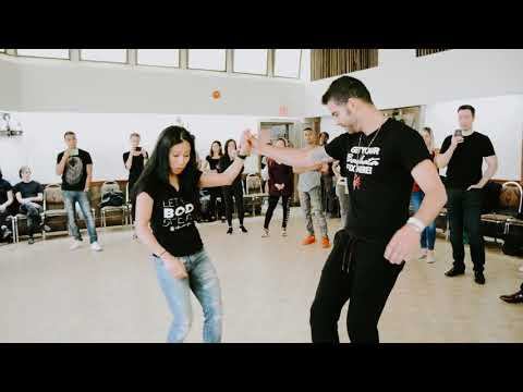 Tania Wong @The Dance Connection Bachata workshop demo at CZKBC 2017