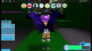 First day at school late! (Roblox roleplay)