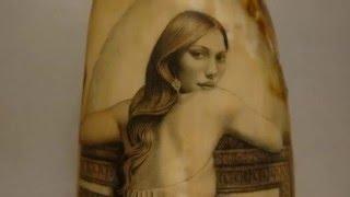 Scrimshaw Showing by Adams - The Painter (Artist)