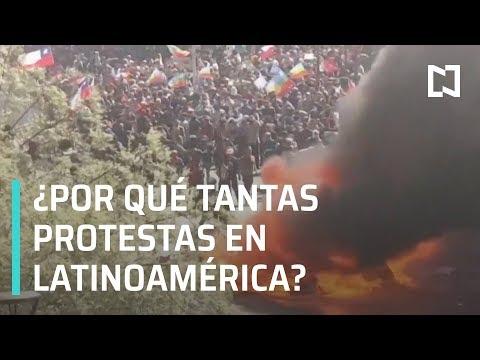 Protestas en América Latina | Manifestaciones en Latinoamérica - En Punto