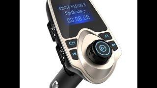Videorecensione ITA Nulaxy 3.5mm-auto Trasmettitore FM Bluetooth Wireless per Auto