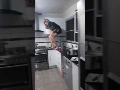 The KiddChris Show - Woman Is Trapped in Her Kitchen by a Massive Spider