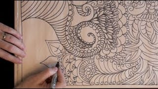 ASMR Slow Motion Drawing (drawing, rubbing, paper tingly ASMR trigger sounds)