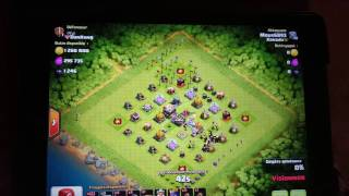 Clash of clans - Énorme butin OR