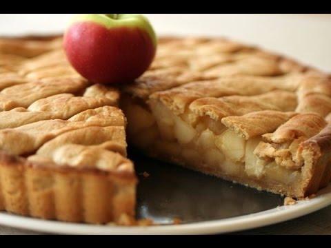 Как приготовить творожно яблочный пирог