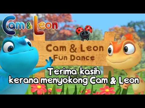 Cam & Leon Fun Dance Fans Video ! | Cam & Leon