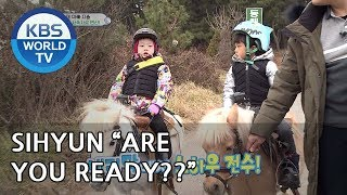 Seungjae and Sihyun are going for a walk with their horses! [The Return of Superman/2019.03.03]
