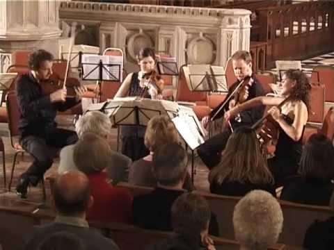 Benjamin Britten Three Divertimenti  Waltz  Carducci String Quartet