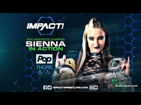 GFW Knockouts Champion Sienna - Interview