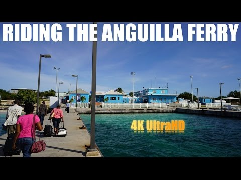 Riding The Anguilla Ferry
