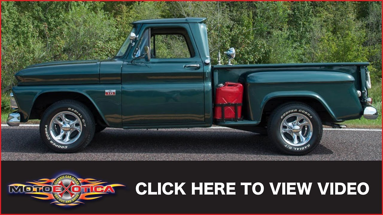 1966 Chevrolet C10 Sold Youtube Pick Up