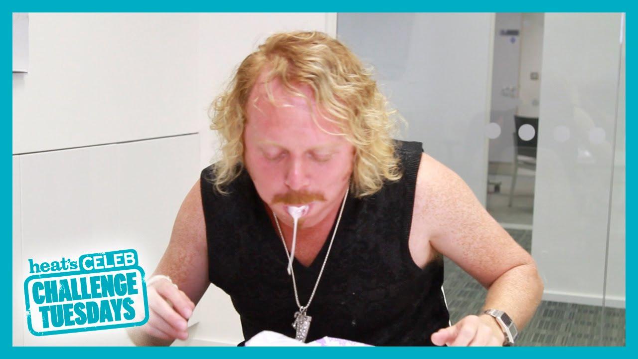 Keith Lemon Marshmallow Challenge - Heat Challenge Tuesdays