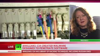 'Cyber warfare is a new frontline'  CIA created malware designed to penetrate software   WikiLeaks
