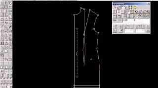 программа Конструктор одежды JULIVI - работа с лекалами