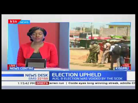 Security beefed up in Kisumu as residents engage in running battles with the police