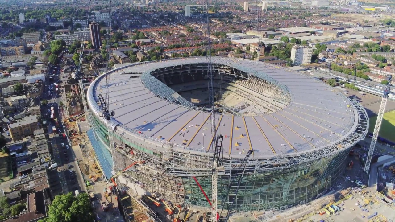 Image result for tottenham hotspur new stadium