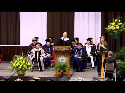 St. Bonaventure  Commencement Address 05/15/16 - Dan Barry, New York Times