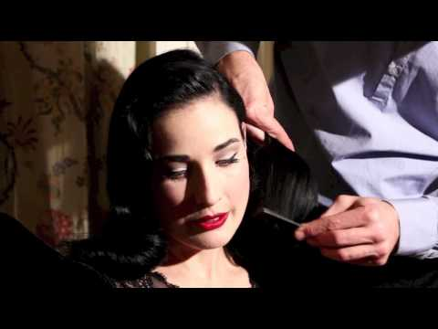 Dita Von Teese On The History Of Her Hair Youtube