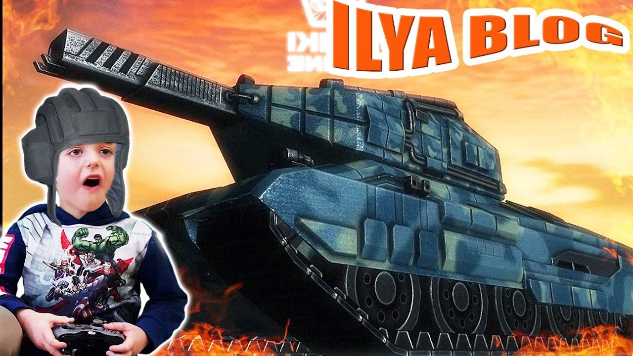 Картинка про илюху и танки