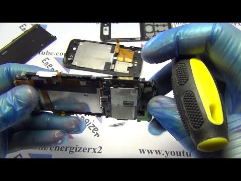 Sony Ericsson W890i Disassembly Energizerx2