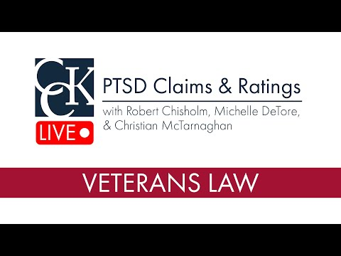 PTSD Claims and Ratings (2018) - YouTube
