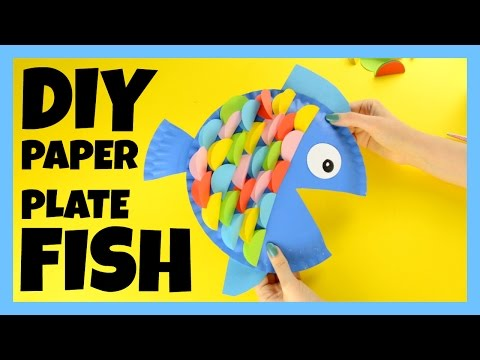 How To Make A Paper Plate Fish - Fish Craft Ideas