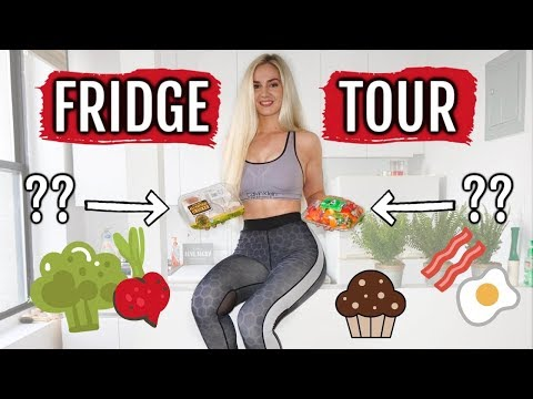 WHAT'S IN MY FRIDGE?? clean eating & must haves!
