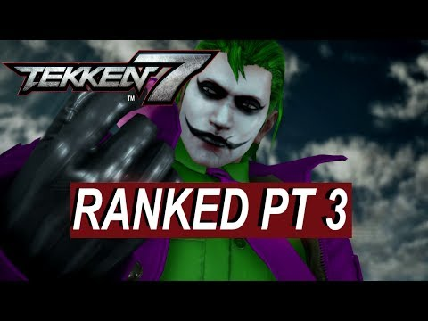 Did the Patch Fix Matchmaking? Tekken 7 Online Ranked Journey part 3!