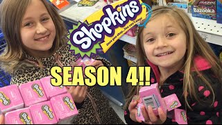 DAD (Grim) Buys SEASON 4 Shopkins for us AT TOYRUS!!!