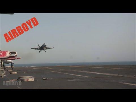 F/A-18 Landing USS