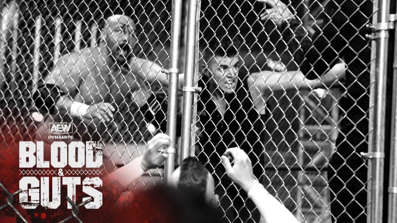 Sammy Guevara and Dax Harwood Kick Off Blood & Guts with a Bang! | AEW Blood & Guts, 5/5/21