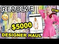 I SPENT $5000 ON REVOLVE!!! DESIGNER TRY ON HAUL 2021 | FOR LOVE AND LEMONS, LOVE SHACK FANCY & MORE