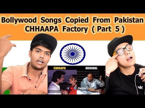 Indian reaction on Bollywood Songs Copied From Pakistan | CHHAAPA Factory Part 5 | Swaggy d