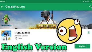 PUBG MOBILE ( ENGLISH VERSION ) - ANDROID GAMEPLAY - GOOGLE PLAY