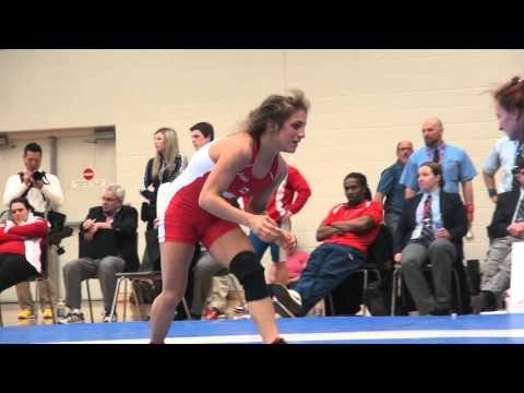 2015 SR CDN NAT FW48kg Darby Huckle (BMWC) vs  Allyssa Cleaves (Black Bears)